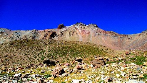 Kayseri Erciyes dağı aşağıdan