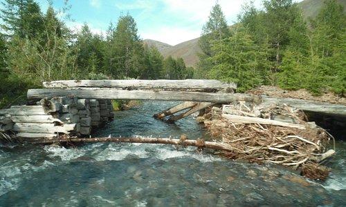 old bridge built by prisoners