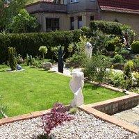 Kunst auch im Gartenbereich