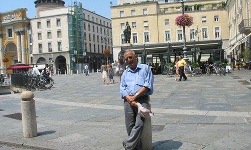 vista general de la Piazza Garibaldi