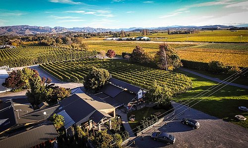 Forrest Wines in the heart of the Wairau Valley, Marlborough