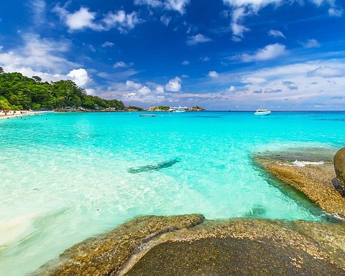 Similan island is clear water