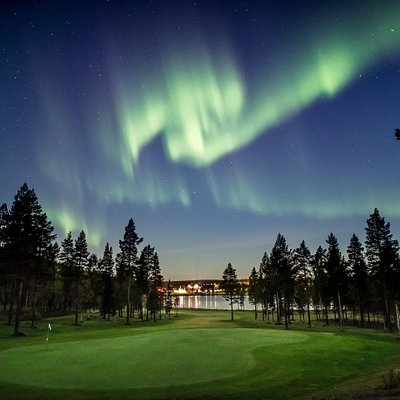 Northest golf course in Finland. Gives you good look what Lapland has to offer, clean air, cryst