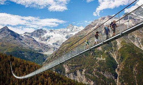 Charles Kunen Suspension Bridge (Foto by Valentin Flauraud)