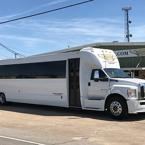 The largest limousine bus in Dallas!