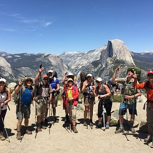 Backpacking in Yosemite National Park, Half Dome