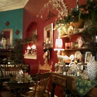 Another photo inside Emily's tea room