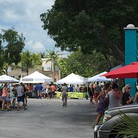 A summers' day at the Florida Keys Farmers Market