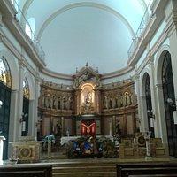 Parroquia Nuestra Señora de Carmelo- Altar Principal- Bs.As. 2017.