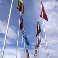 commonwealth flags walk