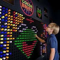 What will you create on the Color Brite wall?