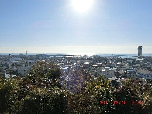 陣屋跡からの眺望