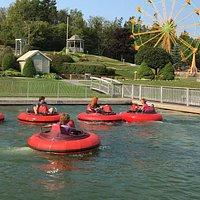 Bumper boat fun!