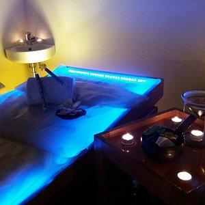 il lettino per i massaggi