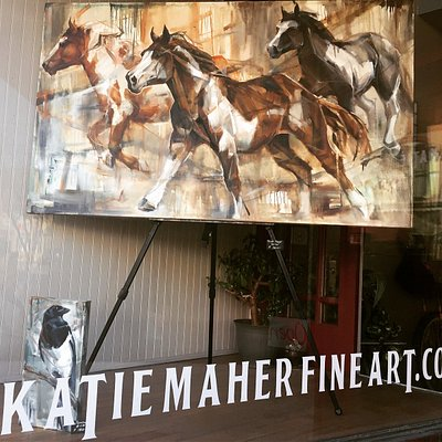 Specializing in horse art