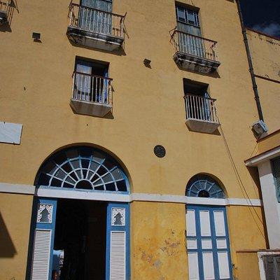 Courtyard of Museo a la Batalla de Ideas