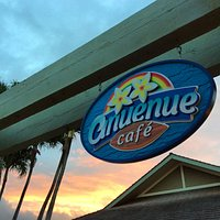 Another beautiful sunrise at Anuenue Cafe