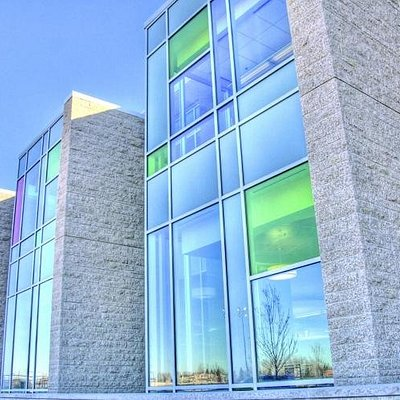 Exterior of the Strathcona County Library