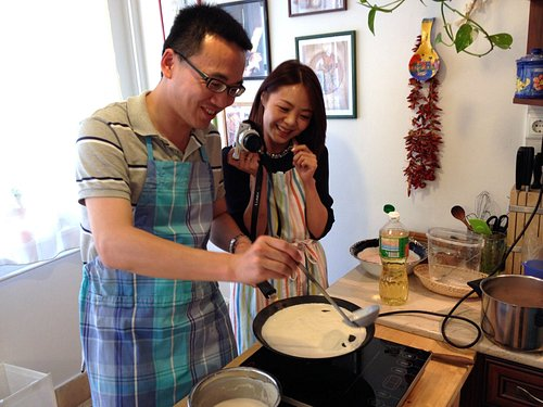 Cooking Class Budapest, Hungarian pancakes