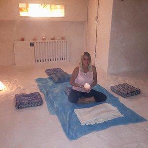 Meditation and healing in Saltspa