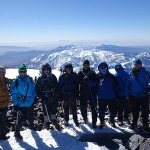 Toubkal ascent in winter