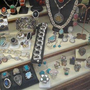 Exclusive silver shop