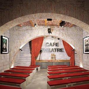 Café théâtre avec soirée très sympa a voir !!