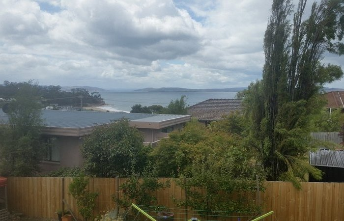 view from holiday home Blackmans Bay Tasmania