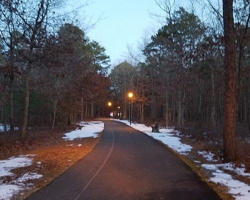 walking and biking trail