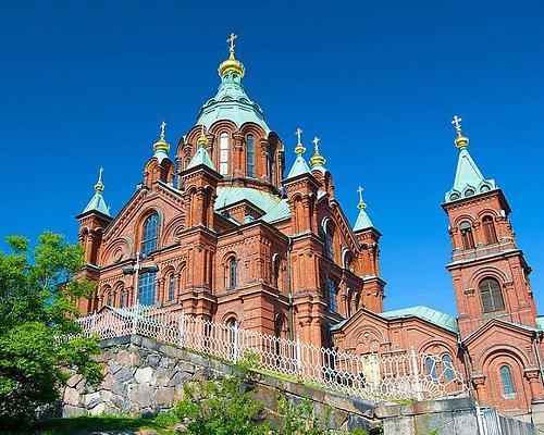Uspenskin Cathedral, Helsinki, Finland