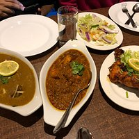 A selection of the ordered food