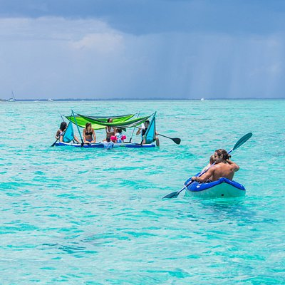 Just enjoying a rainy day in the Caribbean