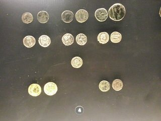 coins from the time of Jesus Christ and before