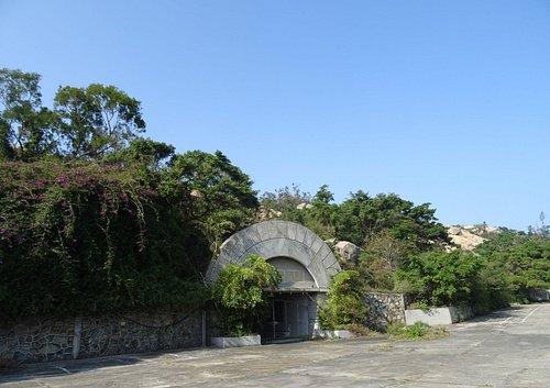 花崗石醫院入口(一號坑道口)