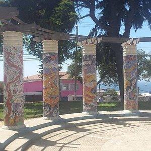 Pilares da Plaza Bismark