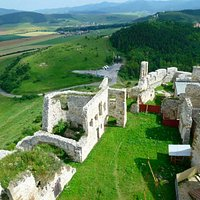 View from the top of Spiš Castle. Wow!