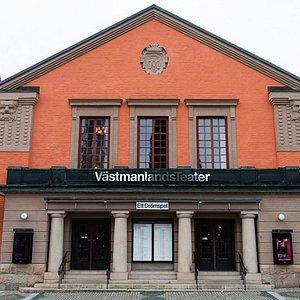Västmanlands Teaters huvudentré.