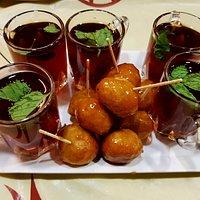 Sweet along with Arabic Tea