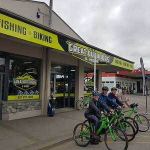 Bike hire from the great out doors