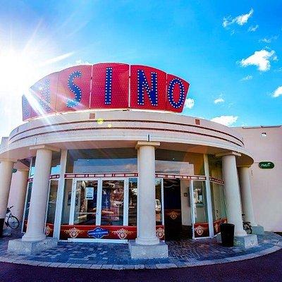 Entrée du Casino de Gruissan