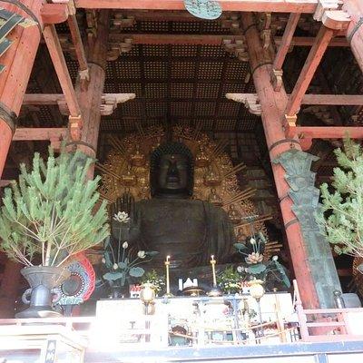 奈良の大仏様、廬舎那仏坐像です