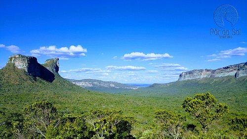 O Morro do Camelo localizado ao norte da Chapada.