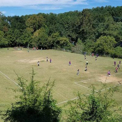 Sunday soccer in the park