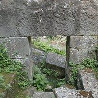Un dintel de 'pietra serena'
