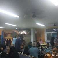 view inside the restaurant