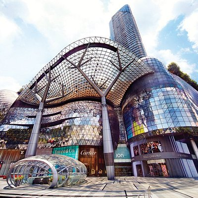 ION Orchard during the day