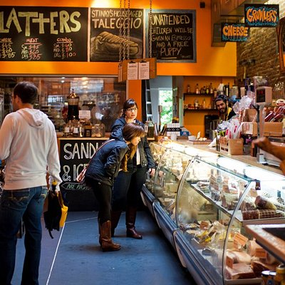 Beautiful cheese shop!