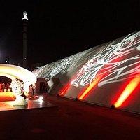 Linda Fachada com a grife do mestre Oscar Niemeyer