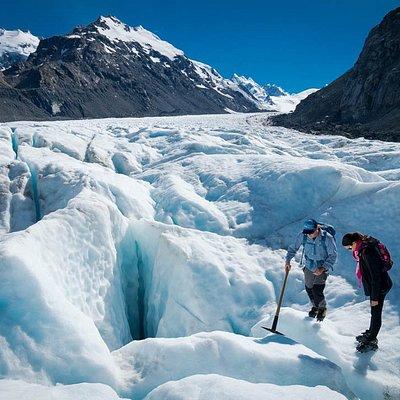 Tasman Glacier Helihike - March 2016