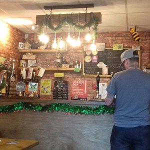 Lovely bar. Also has an inglenook.